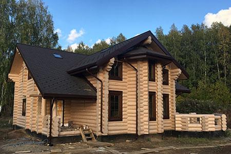 Этот же дом после шлифовки