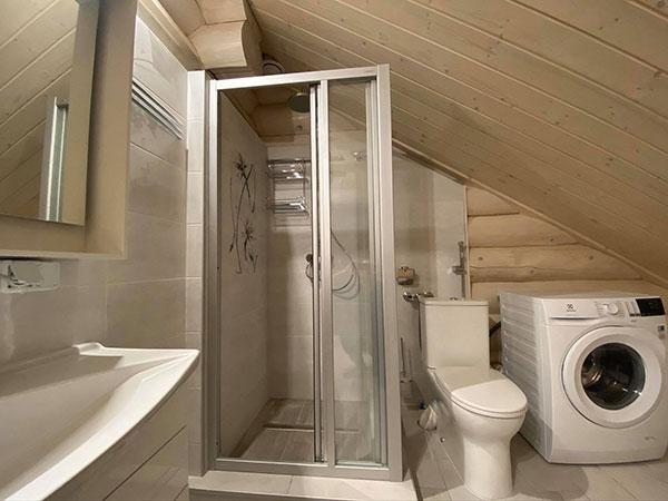 Ванная комната в срубе